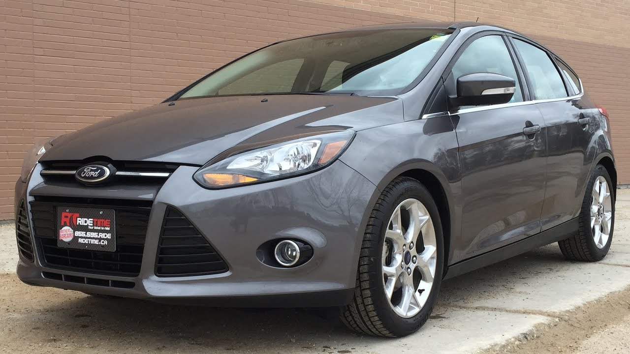 2014 ford focus titanium hatchback luxury group w leather. Cars Review. Best American Auto & Cars Review