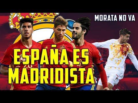 OFICIAL LISTA DE ESPAÑA PARA EL MUNDIAL | 6 MADRIDISTAS A RUSIA 2018 | ASÍ SERÁ EL 11