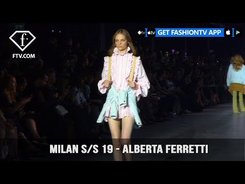 Alberta Ferretti Milan Fashion Week Spring/Summer 2019 | FashionTV | FTV