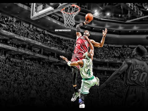 Black Rose Iphone Wallpaper Lebron James Absolutely All Dunks Hd Youtube