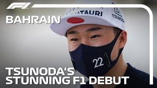 Yuki Tsunoda's Stunning F1 Debut | 2021 Bahrain Grand Prix