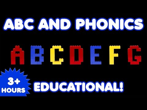 ABC, Letters, and Phonics | 3 Hours | Nursery Rhymes | Kids Songs | Educational