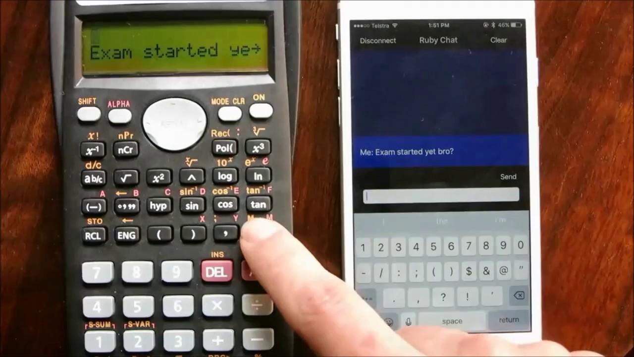Cheating scientific calculator RXO v5 0