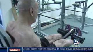 95 year old weight lifter