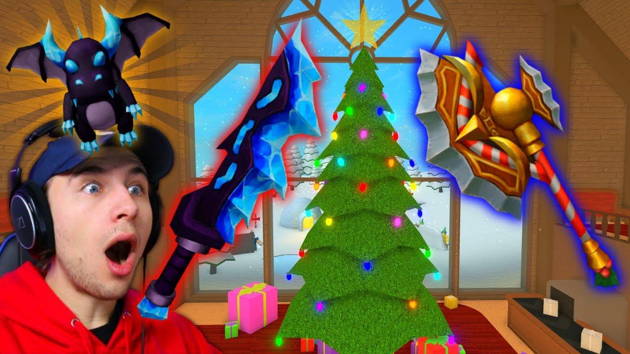Murder Mystery 2 Christmas Update Santa Map Godlys Pets Youtube