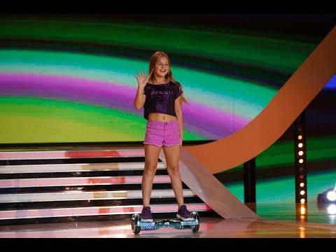 """Nu o să-ți vină să crezi! Ana Beregoi, balet pe hoverboard la """"Next Star"""""""