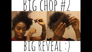 2 BIG CHOP!! AND REVEAL :) Thumbnail
