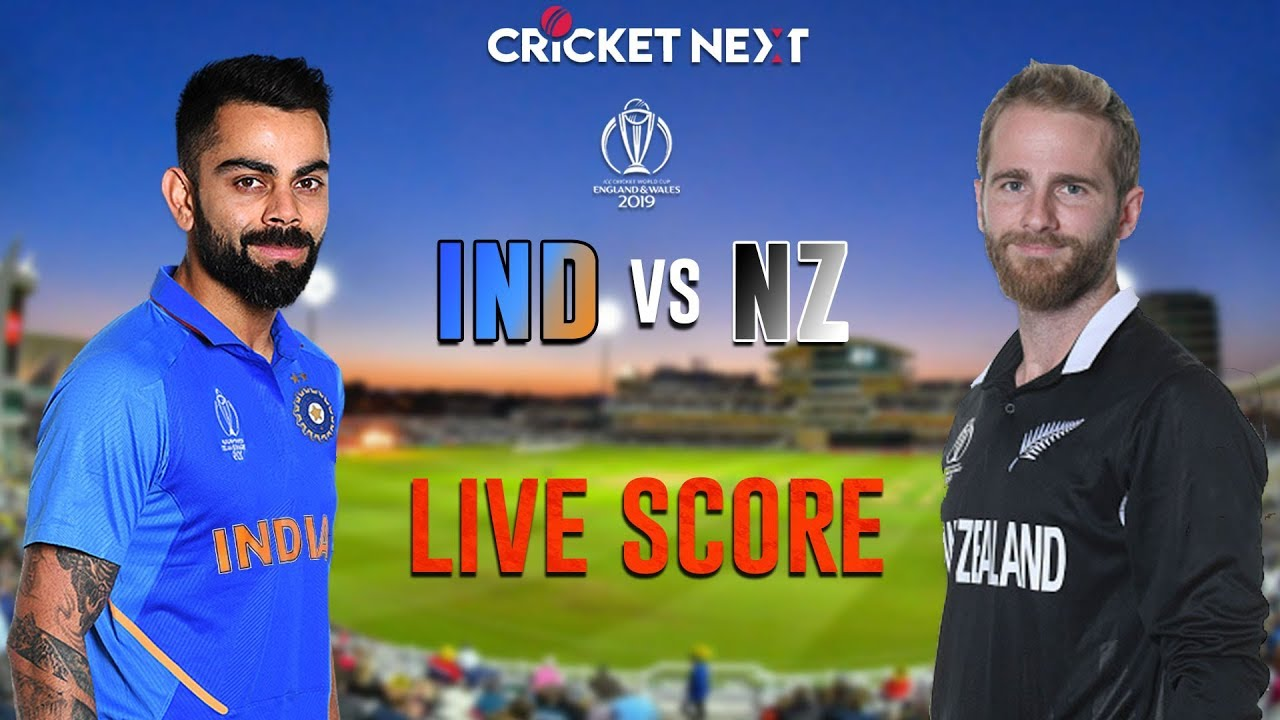 India vs New Zealand, Cricket World Cup 2019: live score and latest updates
