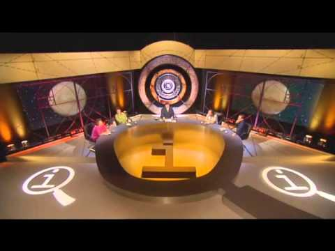 QI: What colour is the planet Mars? (Alan Davies trolling Stephen Fry)