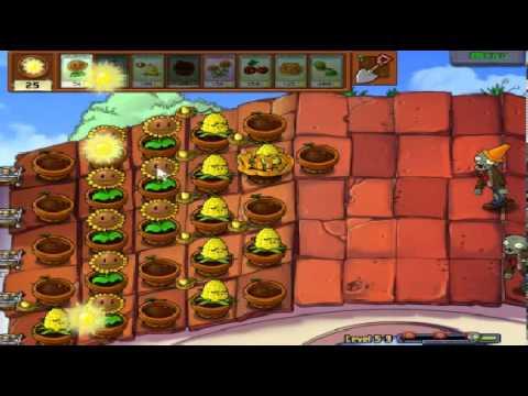 Plants vs zombies (Trồng cây bắn zombie) - Cấp độ 5-9 (Game Việt Hóa)