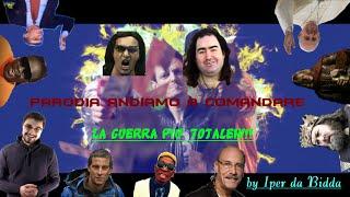 La Guerra Più Totaleh!!! | Parodia Andiamo a Comandare | Fabio Rocazzi feat. Richard Benson & altri