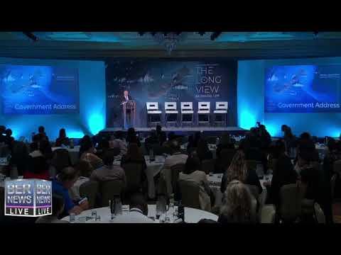 Bermuda Tourism Summit Opening Session, October 15 2019