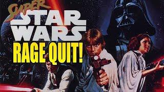 MOST FRUSRATING 16-BIT GAME EVER! RETRO RAGE: Super Star Wars!