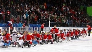 "Canada v Czech Republic - International Ice Sledge Hockey Tournament ""4 Nations"" Sochi"