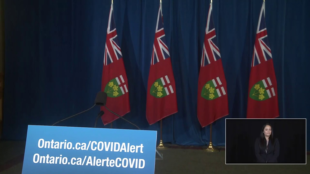 Ontario Premier Doug Ford Provides COVID-19 Update | November 18