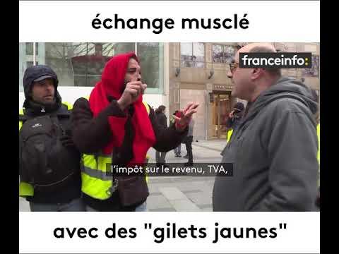 Gilets jaunes : 'Casse-toi connard avec tes 3 000 euros!'
