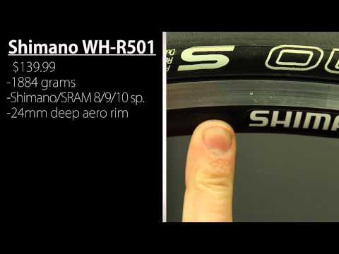 Western Bikeworks Features: Shimano WH-501 Wheelset