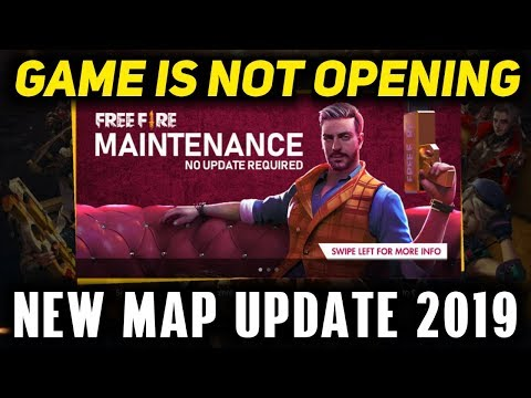 Free Fire New Update 2019 Live (Game Is Not Opening 19th September 2019)