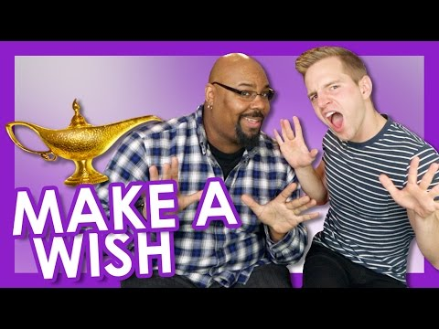 Make A Wish w/ James Monroe Iglehart   TYLER MOUNT