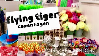 FLYING TIGER COPENHAGEN | SHOP FLOOR | LONDON | MISSYBEELONDON