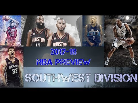 2017-18 NBA Preview - Southwest Division