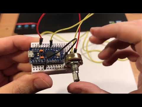 Arduino Micro - USB Joystick