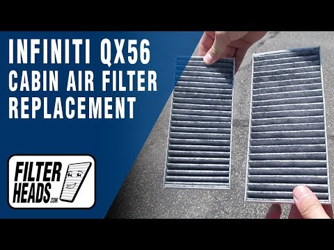 How to Replace Cabin Air Filter 2008 Infiniti QX56