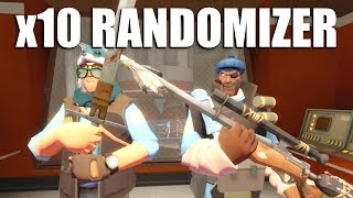 TF2: x10 Randomizer with Fox!