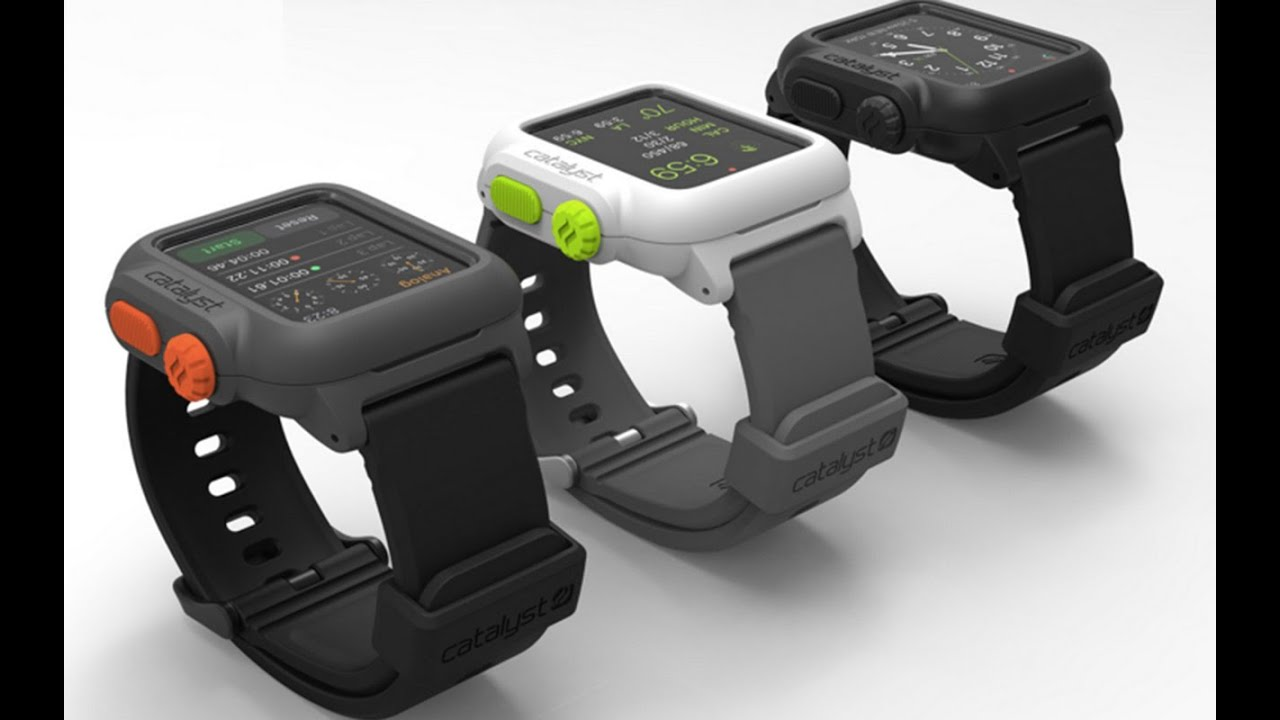 CES: Water Proof Apple Watch Case from Catalyst
