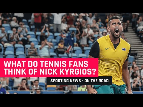 What Do ATP Cup Fans Think Of Nick Kyrgios | On The Road #001