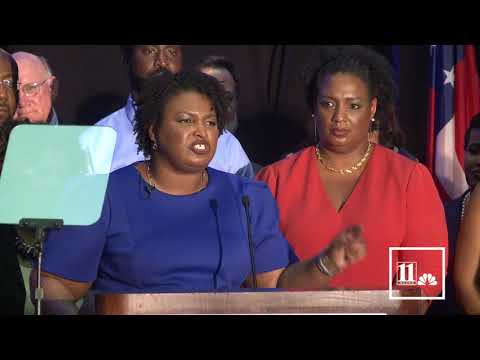 Stacey Abrams full victory speech after historic win