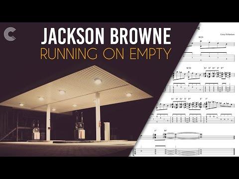 Guitar  - Running on Empty - Jackson Browne - Sheet Music, Chords, & Vocals