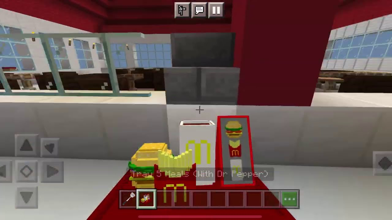 REAL LIFE McDonalds MOD in Minecraft PE