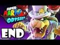Super Mario Odyssey - Switch Gameplay Walkthrough ENDING: Final Boss - Bowser & Peach Wedding