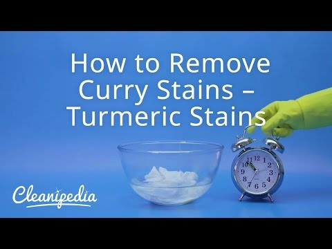 How to Remove Curry Stains – Turmeric Stains   Cleanipedia