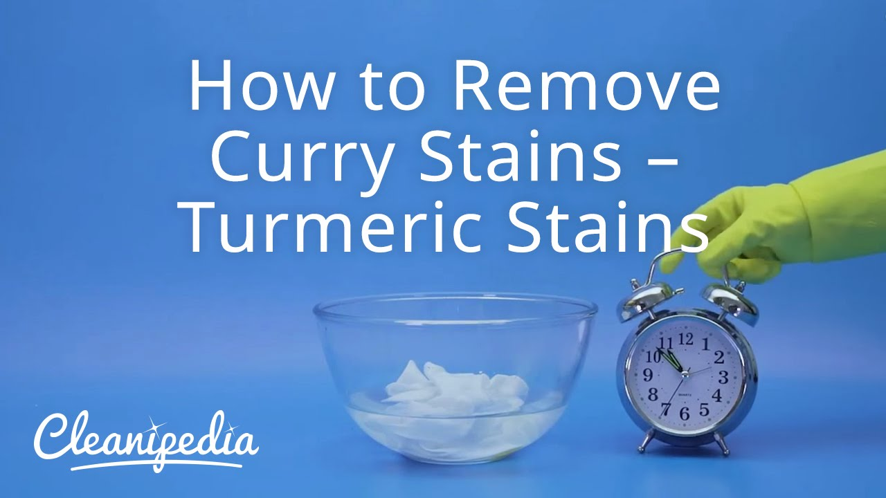 How To Remove Curry Stains Turmeric