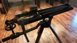実弾射撃 ガトリングガン 手回し式機関銃 (Gatling Gun Cranked)