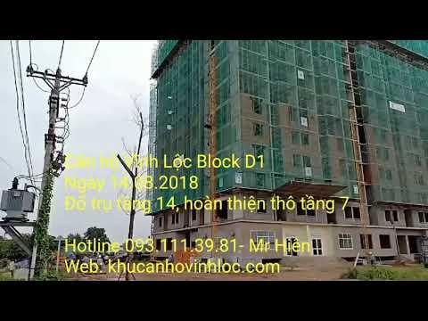 Căn hộ Vĩnh Lộc Block D1 ngày 14.08.2018
