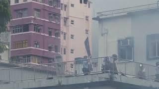 香港周日8月11日游行活动继续