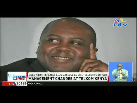 Mugo Kibati replaces Aldo Mareuse as chief executive officer of Telkom Kenya
