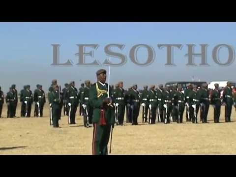 Lesotho National Army Day 2008