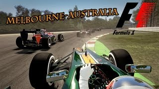 Gameplay F1 2013 Grand Prix Australia : Melbourne | FR - HD - PC