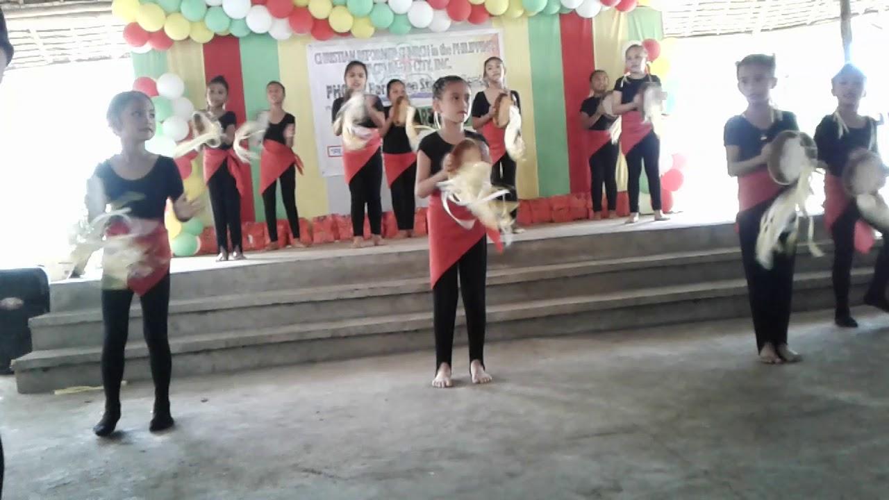 Tambourine Dance Presentation - YouTube