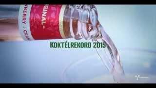 Somersby Koktélrekord az V. Jubileumi Sörfesztiválon