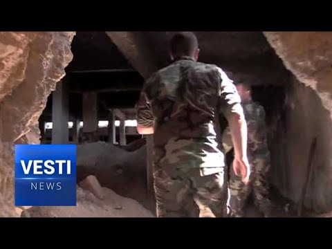 WATCH: Dust Settles in Liberated Syrian Cities - Russia Helps Refugees Return to Damascus