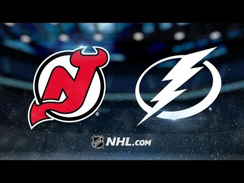 New Jersey Devils vs Tampa Bay Lightning – Oct.30, 2018 | Game Highlights | NHL 18/19 | Обзор матча