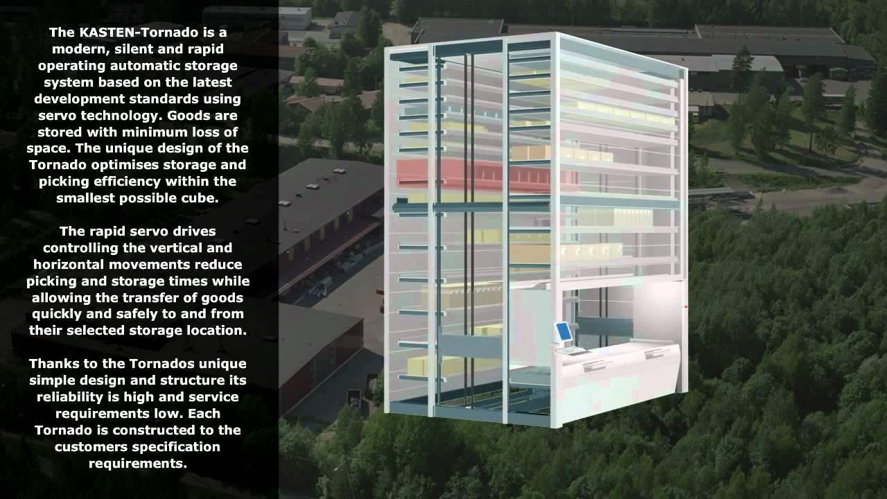 Kasten Tornado Lift Storage Machine