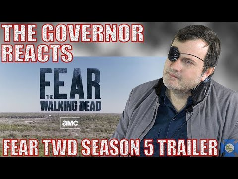Fear The Walking Dead S5 Trailer Reaction - The Governor Reacts