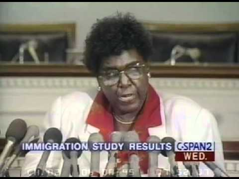 1995 Barbara Jordan Press Conference on Legal Immigration Recommendations