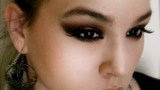 ♔ Demo ♔ Maquillage Oriental Facile!/Easy arabian makeup